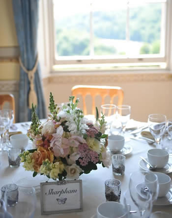 Wedding catering, Sharpham, Devon