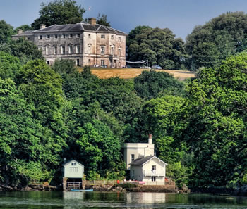 wedding and event catering devon - Sharpham House - © Pete Blackwell